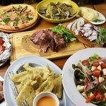 Bar Salu - ★一番人気★お肉も魚も充実♪「バルザルコース」¥4,000(税込)飲み放題120分(LO90分)付