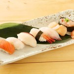 道産子寿司7貫盛り