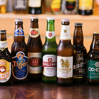 【世界のビールが味わえるビールフェア開催中!】