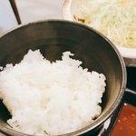 黒かつ亭 - ご飯