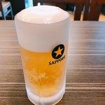 黒かつ亭 - ビール