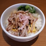 季風軒 - 焼豚丼