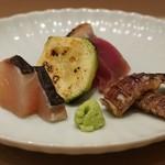 鮨 とかみ - イサキ・鰹・しゃこ