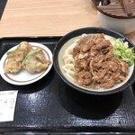 日本橋 讃岐うどん ほし野 - 肉うどん(冷)ととり天