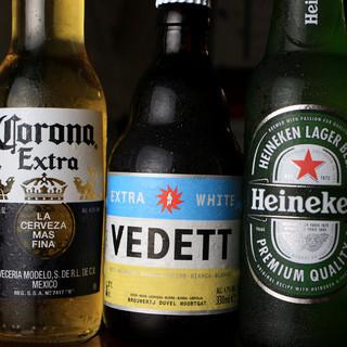 飲み助歓迎!海外ビール・焼酎・ワインetc150種以上★