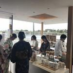 アラビカ京都 - 明るい店内