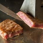 鉄板だぶだぶ - 鉄板焼ステーキ