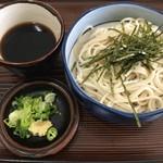 更科 - セットの蕎麦(冷)