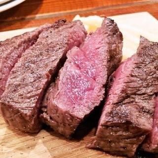 国産牛使用!こだわりの赤身のランプ肉♪