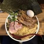 87536437 - すごい煮干ラーメン スーパーゴールデン ¥1,600-