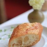 レストラン ペタル ドゥ サクラ - パンもリベイクされています