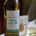 レストラン ペタル ドゥ サクラ - お願いした白ワイン