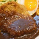 キッチンABC - ハンバーグ