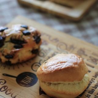 ベッカライトーンガルテン - 料理写真:スコーン2種