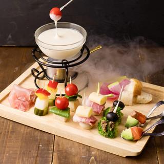 【夏限定】「冷たいチーズフォンデュ」が6月15日スタート!