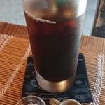 上庄かふぇ - ドリンク写真:アイスコーヒー。