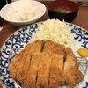 博多とんかつ あんず食堂 - 料理写真:ロースカツ定食中