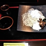 渡邊 - [料理] しらすそば セット全景♪w