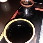 渡邊 - [料理] つゆ徳利 & つゆ入り蕎麦猪口