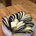 まりや - なすバター焼き550円
