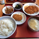 かっぽうぎ - お昼の4品定食 777円(税抜き)