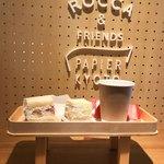 ロッカアンドフレンズ パピエ キョウト - イチジク ココナッツクリーム、メロン チーズクリーム、アールグレイティー
