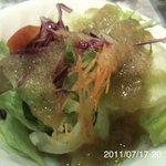 アンドラ - 料理写真:セットのサラダ