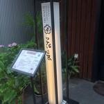 天ぷら 花長 - 看板