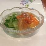 天ぷら 花長 - 料理写真:赤貝酢の物