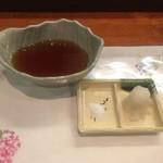 天ぷら 花長 - 天つゆ、塩