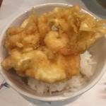 天ぷら 花長 - かき揚げ丼