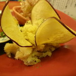 かごっま屋台 火の玉ボーイ - おばんざい盛(ポテトサラダ)