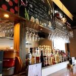 ダイニングカフェ&ワイン Grimpeur - カウンター席