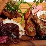 Tree House 肉バル ジャックトマメノキ - マメノキ特製贅沢肉コンボ4種類