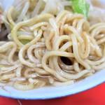 らーめん いごっそう - 麺(大盛)