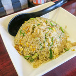 拉麺 空海 - セットのチャーハンは+300円でした。
