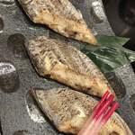 海賓亭 - 太刀魚の塩焼き
