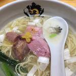 中華そば 満鶏軒 - 鴨中華そば(塩)¥850