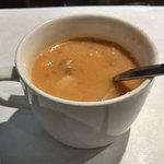 シュガーキューブ - ランチのスープ