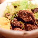 鳥酎 - 牛どて煮@580円+税:寄ってみました。