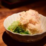 鳥酎 - 燻製ポテトサラダ@580円+税