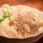 鳥酎 - 燻製ポテトサラダ@580円+税:寄ってみました