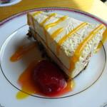 カフェ ペルシッカ - チーズケーキ