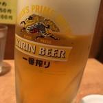 寺尾屋 - 生ビール