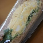 ウフ タマコ サンド - デンマーク産チーズ