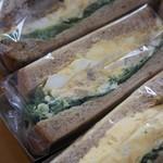 ウフ タマコ サンド - サンドウィッチ