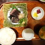郷土料理くらわんか - 鰹たたき定食