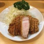 とんかつ燕楽 - ロースカツ単品(^ ^)
