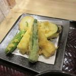 人形町 双庵 - 野菜天