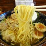 87555795 - 黒豚雲呑麺セット(煮豚飯)1,069円(税込み)
